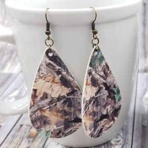 """My AuSome Boutique Jewelry - 2.5"""" Camo Earrings"""